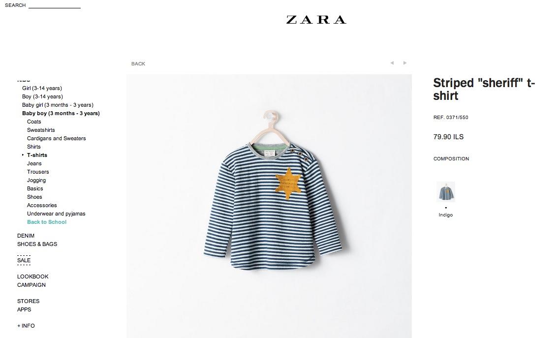 maglia Zara epica fail